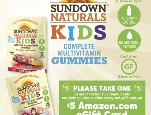 Sundown Naturals Kids Multivitamin Sampling